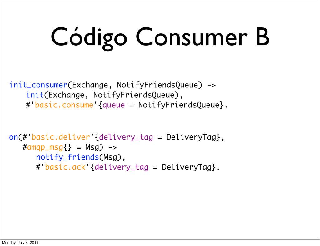 Código Consumer B init_consumer(Exchange, Notif...