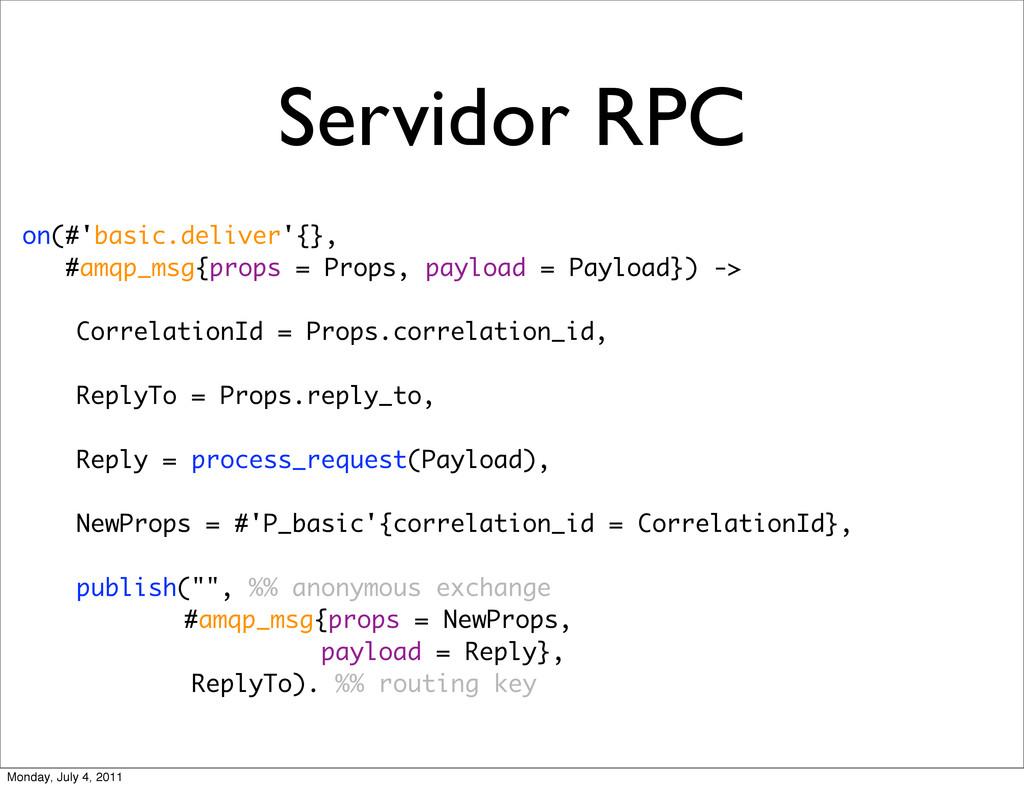 Servidor RPC on(#'basic.deliver'{}, #amqp_msg{p...