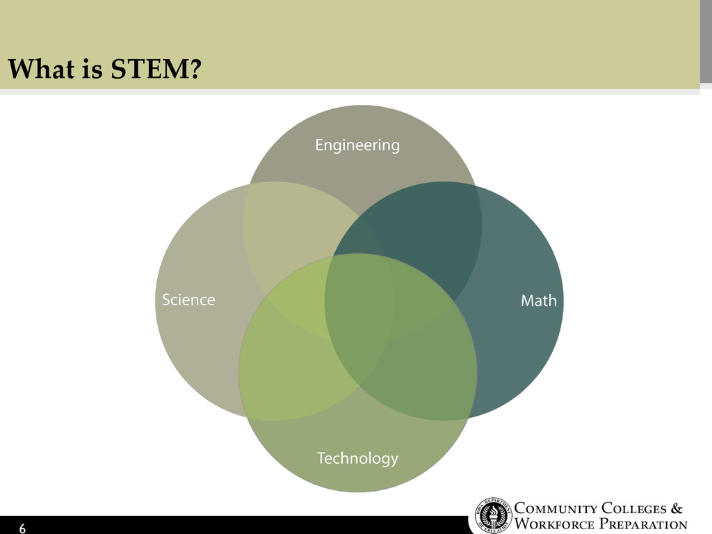 What is STEM? 6