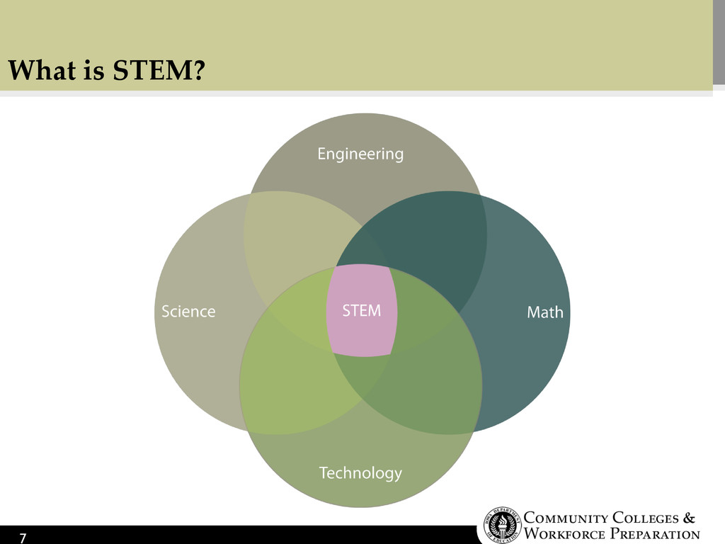 What is STEM? 7