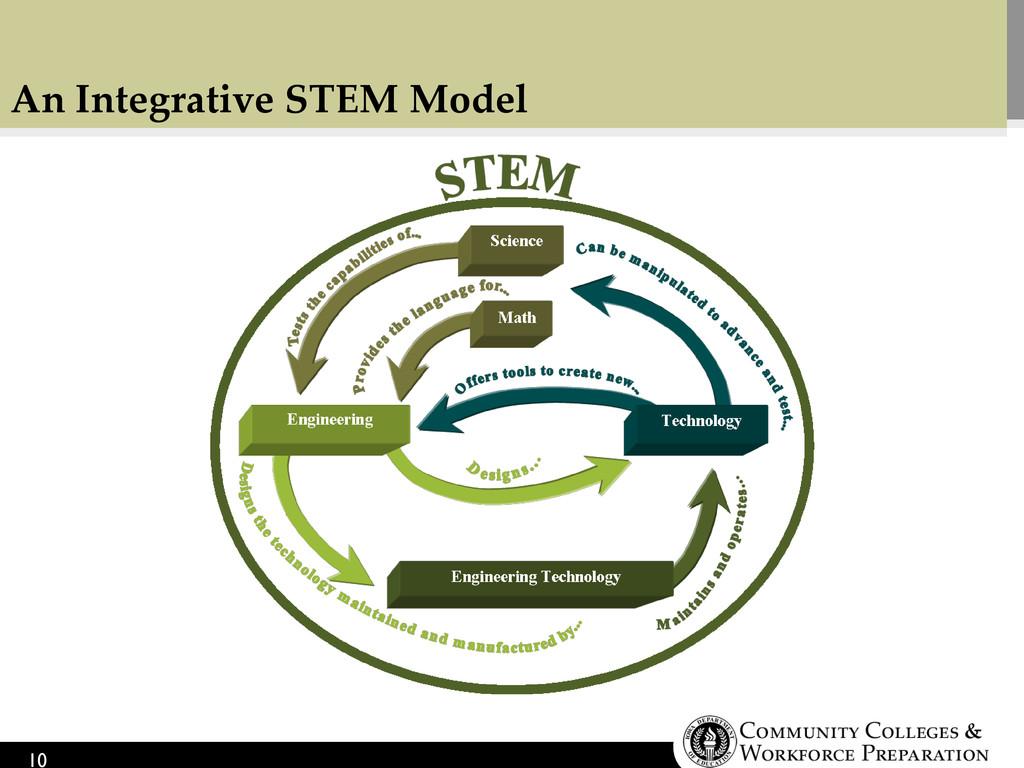 An Integrative STEM Model 10