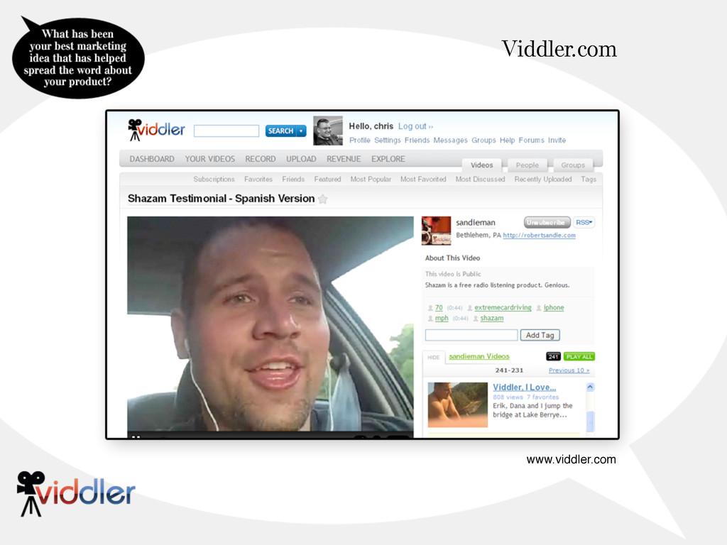 Viddler.com www.viddler.com
