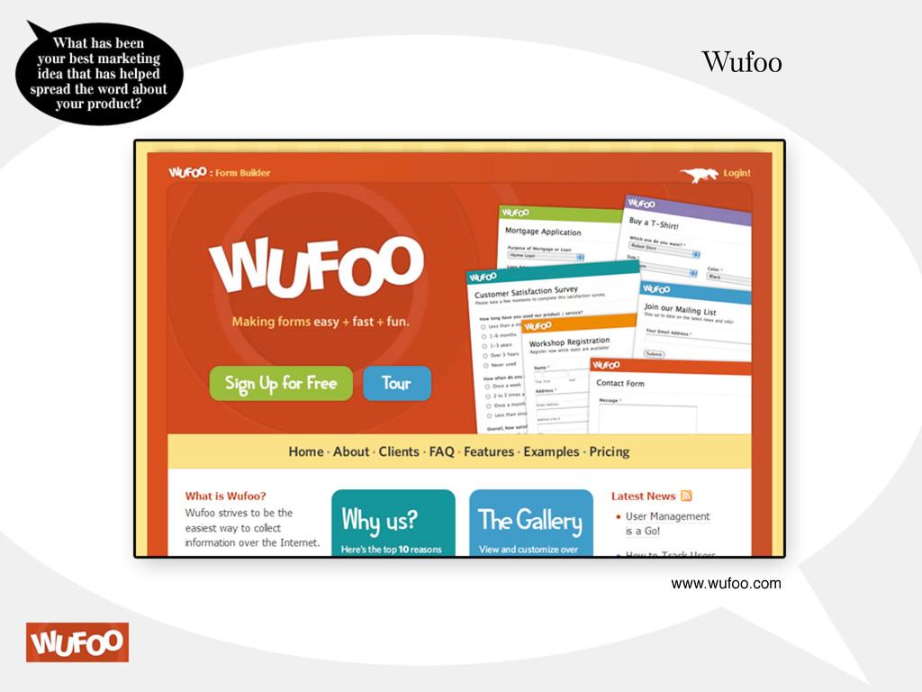 Wufoo www.wufoo.com