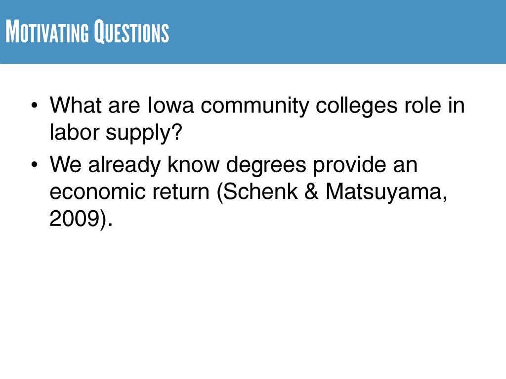 • What are Iowa community colleges role in labo...