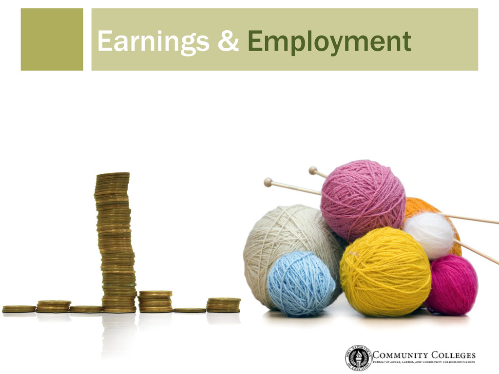 Earnings & Employment