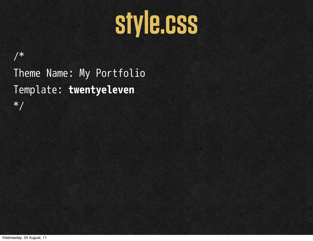/* Theme Name: My Portfolio Template: twentyele...