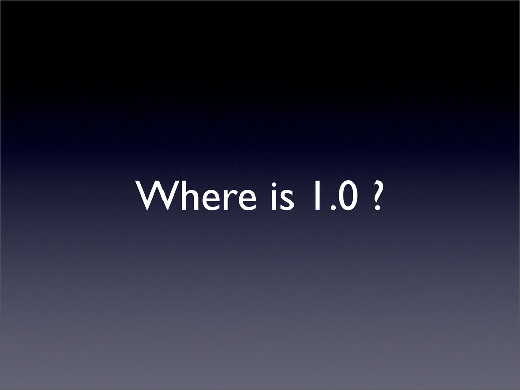 Where is 1.0 ?