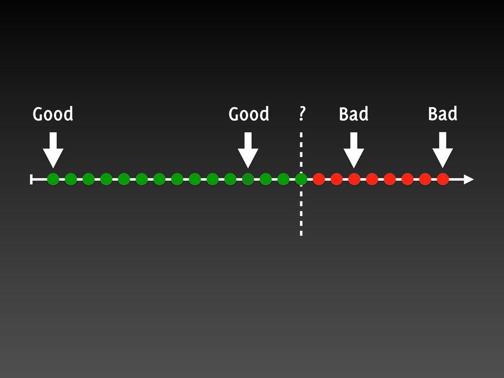 Bad Good Good Bad ?