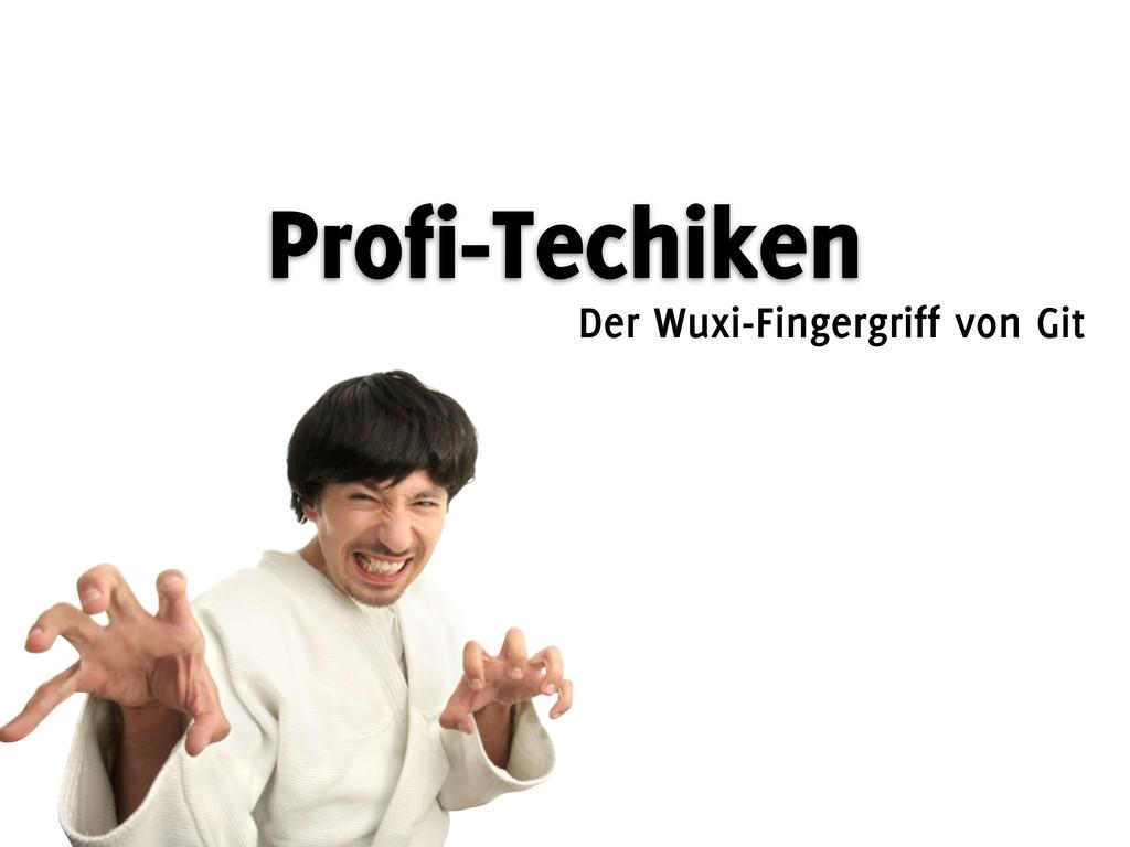 Profi-Techiken Der Wuxi-Fingergriff von Git
