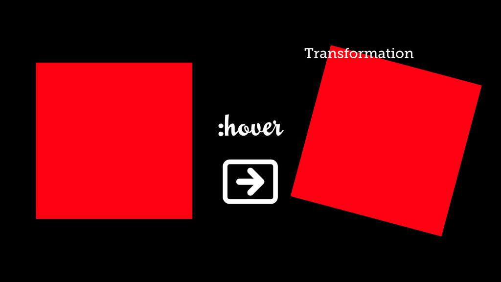 :hover 0N Transformation