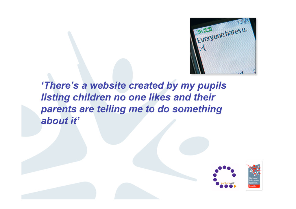 'There's a website created by my pupils listing...
