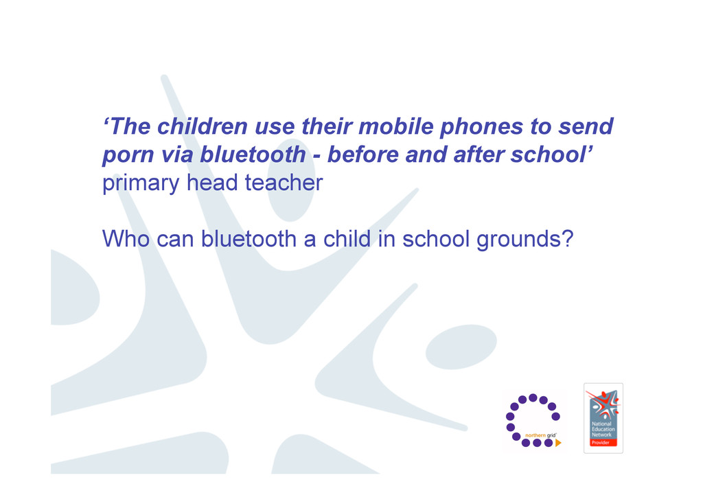 'The children use their mobile phones to send p...