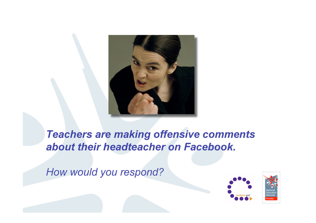 Teachers are making offensive comments about th...