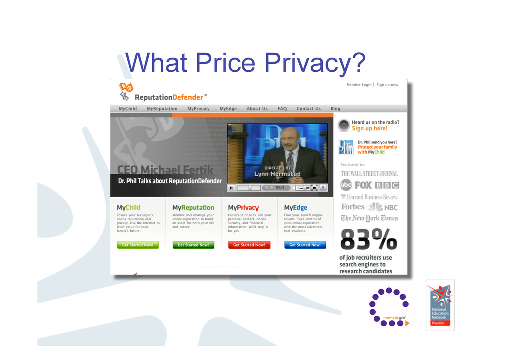 What Price Privacy?