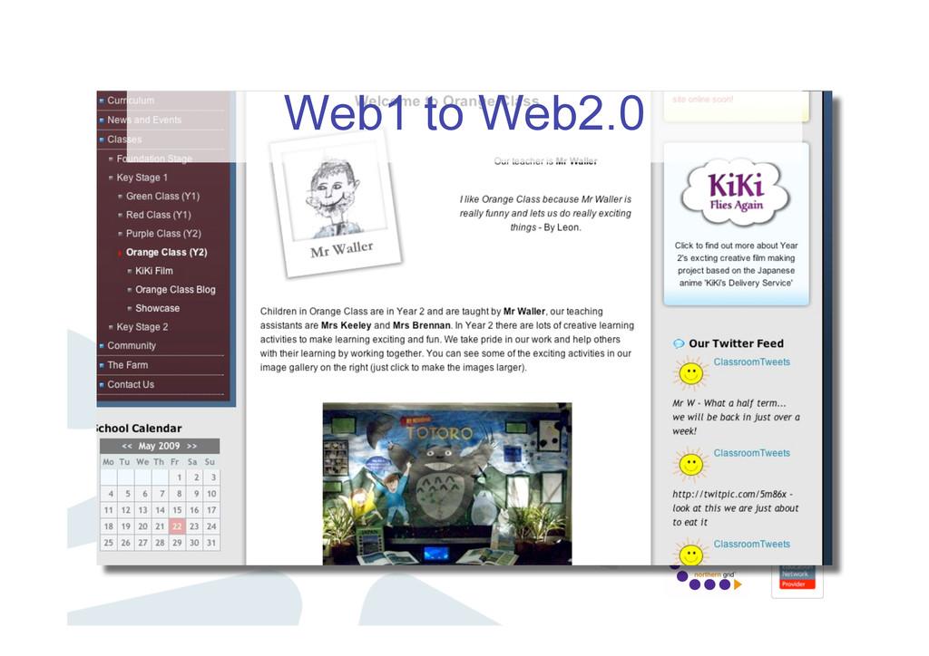 Web1 to Web2.0