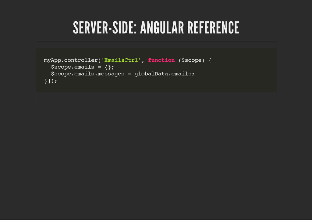 SERVER-SIDE: ANGULAR REFERENCE m y A p p . c o ...