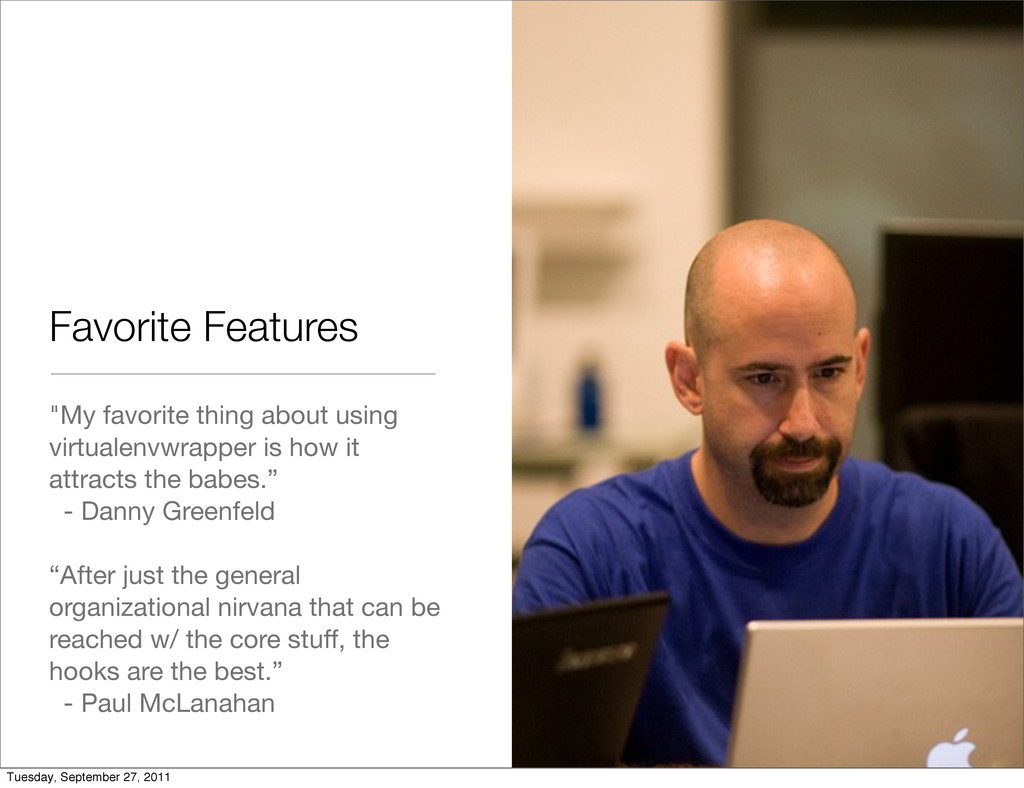 """Favorite Features """"My favorite thing about usin..."""