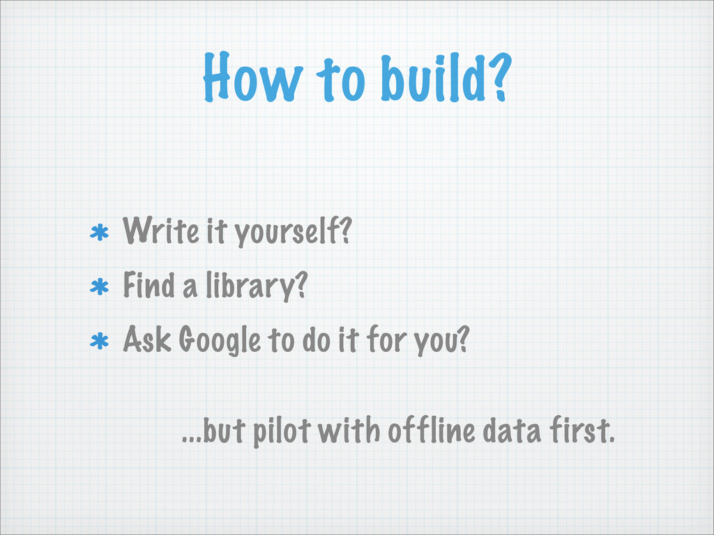 Write it yourself? Find a library? Ask Google t...