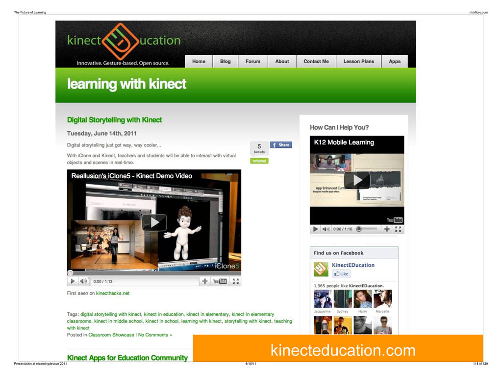 kinecteducation.com The Future of Learning nick...