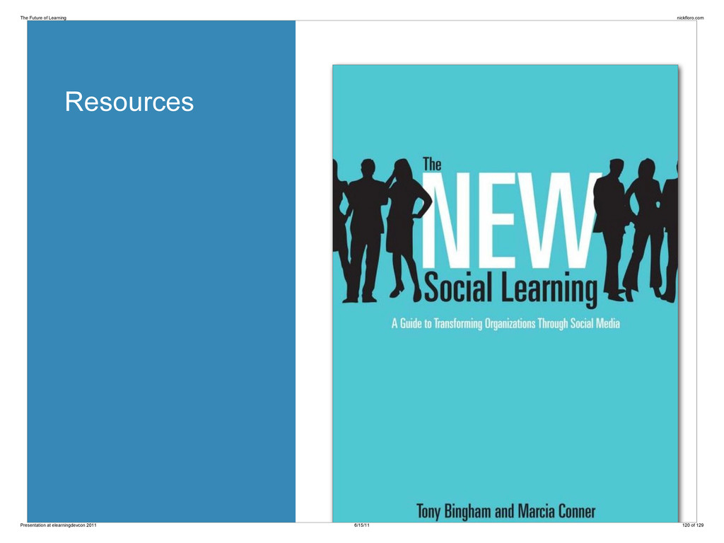 Resources The Future of Learning nickfloro.com ...