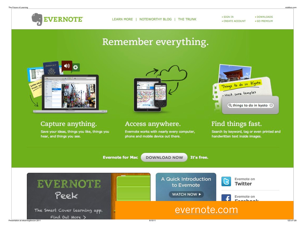 evernote.com The Future of Learning nickfloro.c...