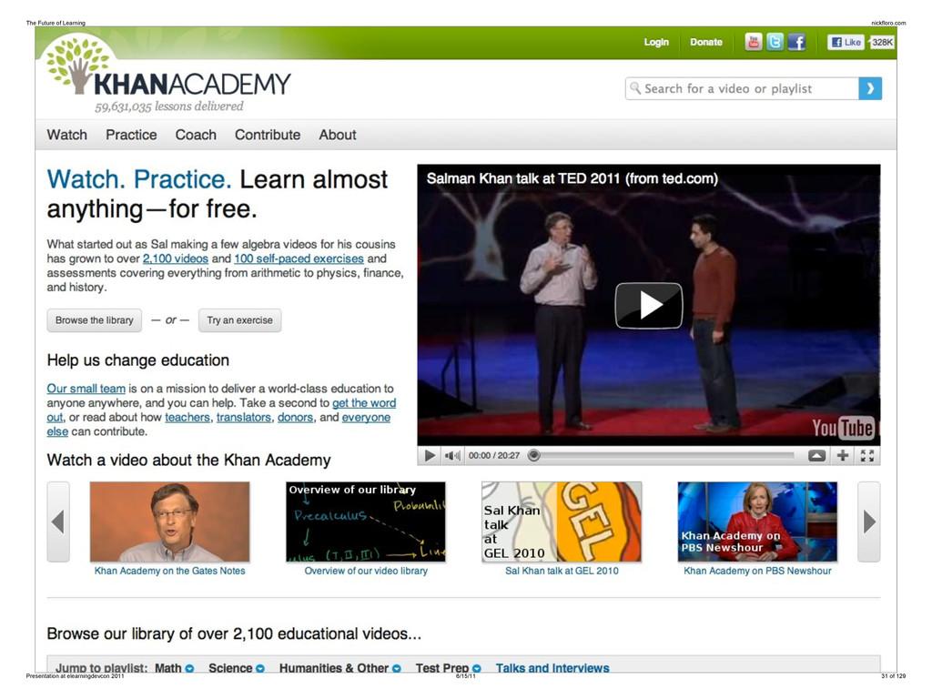 The Future of Learning nickfloro.com Presentati...