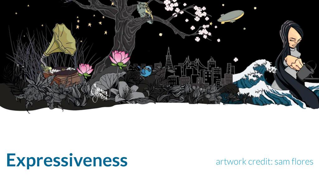 Expressiveness artwork credit: sam flores
