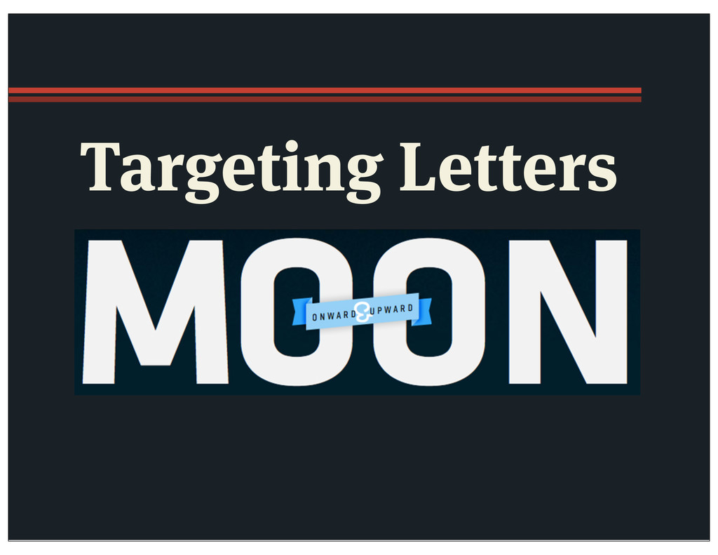 Targeting Letters