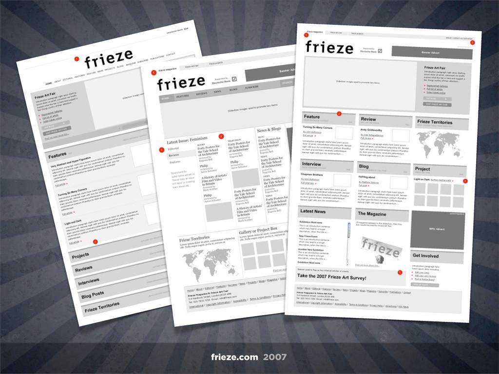 frieze.com 2007