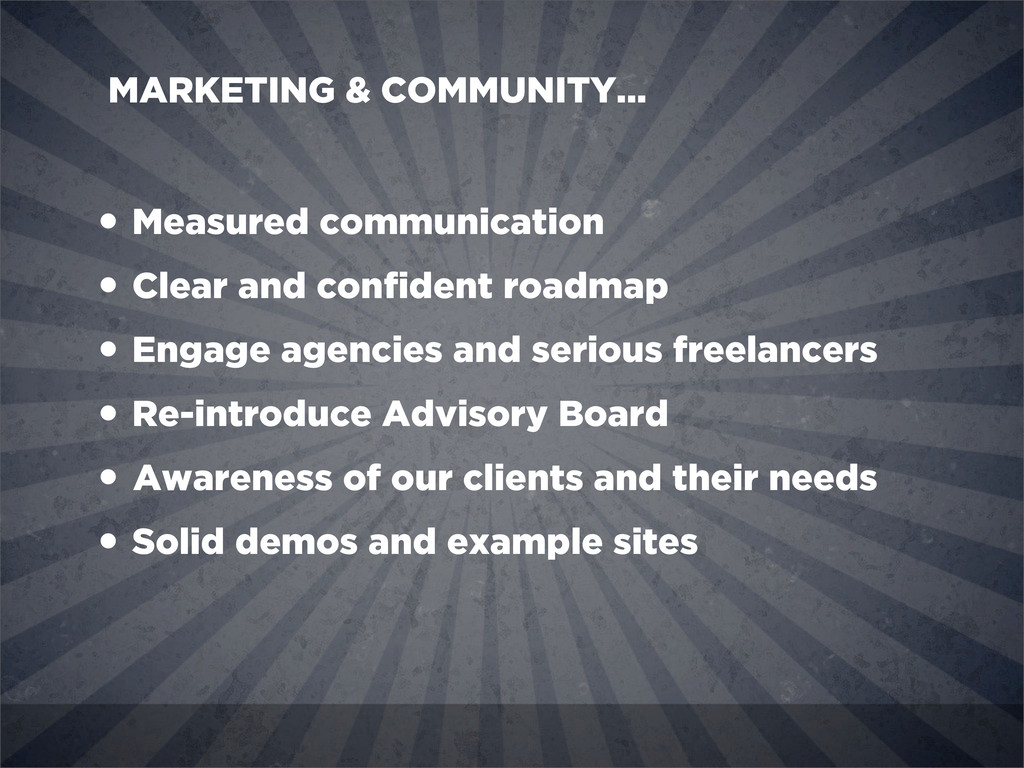 • Measured communication • Clear and confident r...