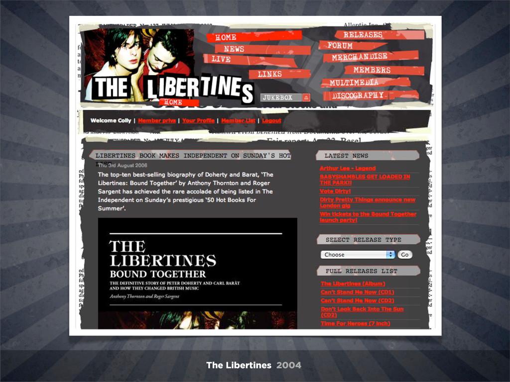 The Libertines 2004
