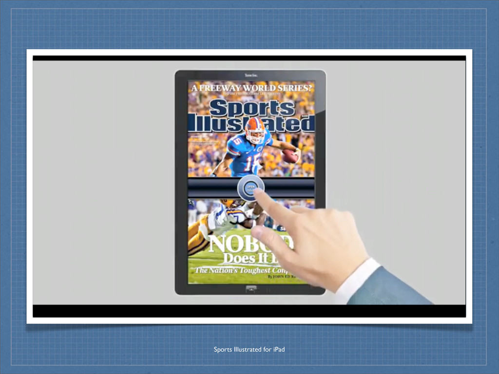 Sports Illustrated for iPad