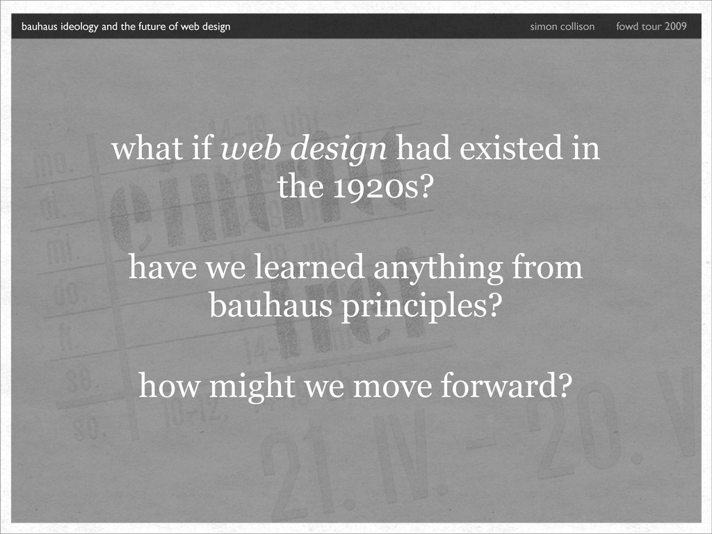 what if web design had existed in the 1920s? ha...
