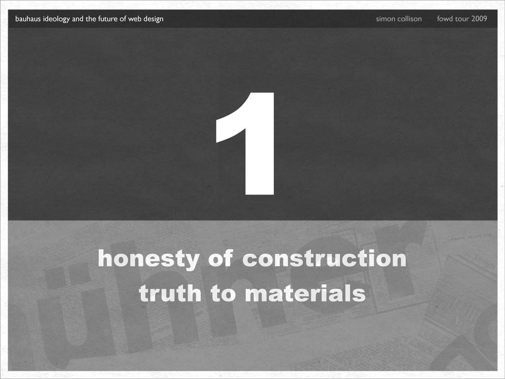 1 honesty of construction truth to materials ba...