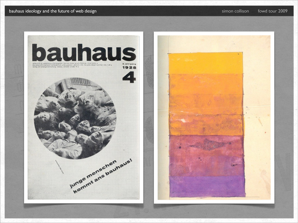 bauhaus ideology and the future of web design s...