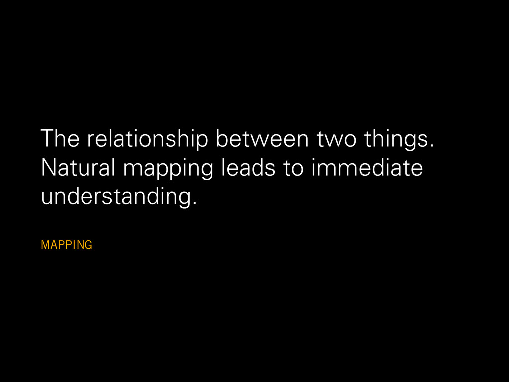 The relationship between two things. Natural ma...