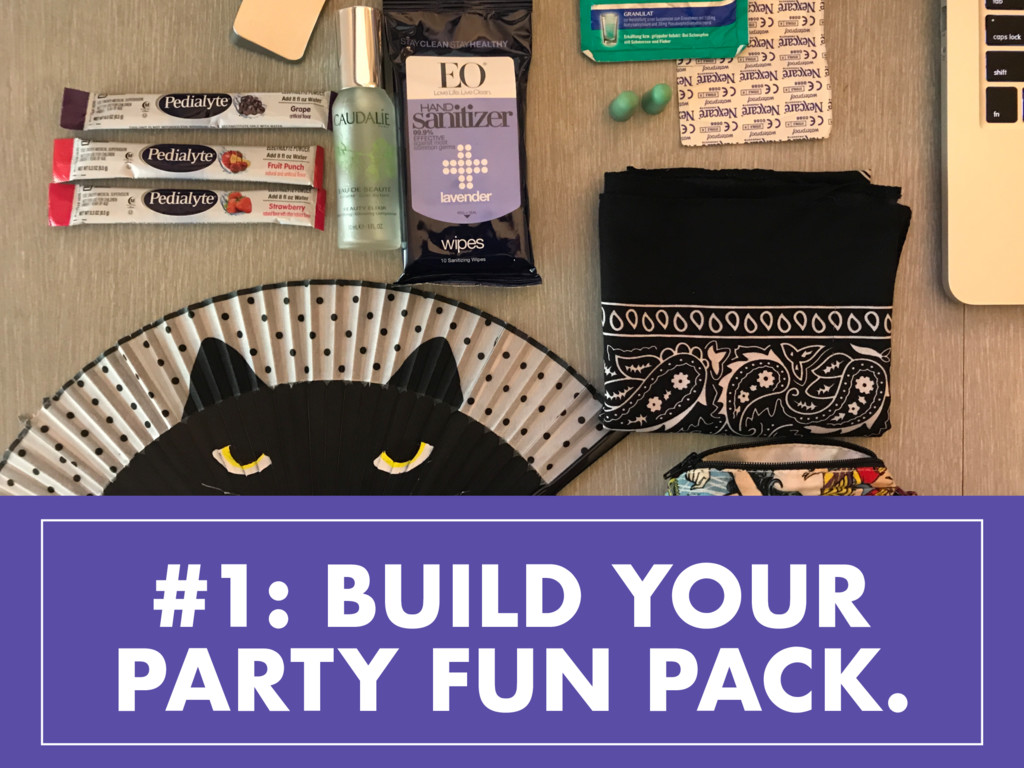 #1: BUILD YOUR PARTY FUN PACK.