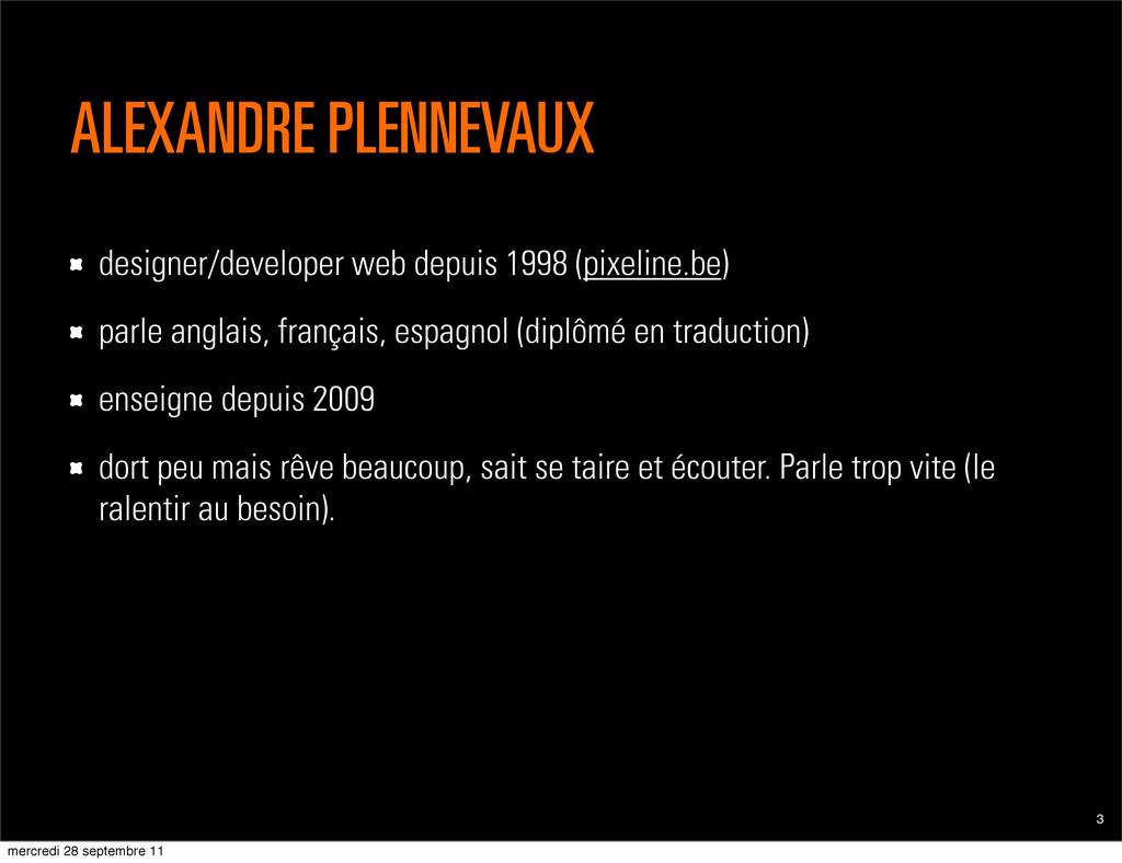 ALEXANDRE PLENNEVAUX 3 designer/developer web d...