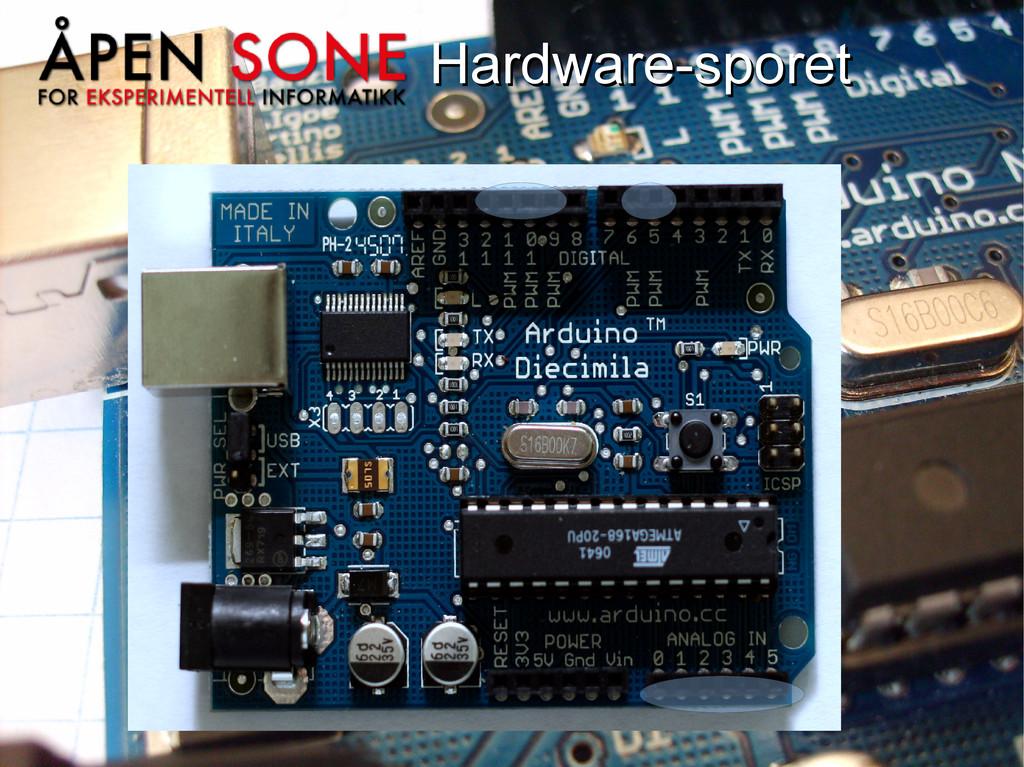 Hardware-sporet Hardware-sporet
