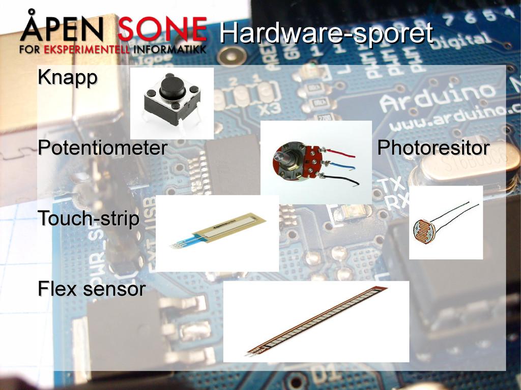 Hardware-sporet Hardware-sporet Knapp Knapp Pot...