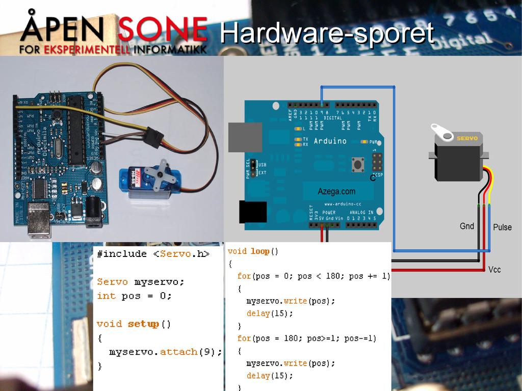 Hardware-sporet Hardware-sporet c