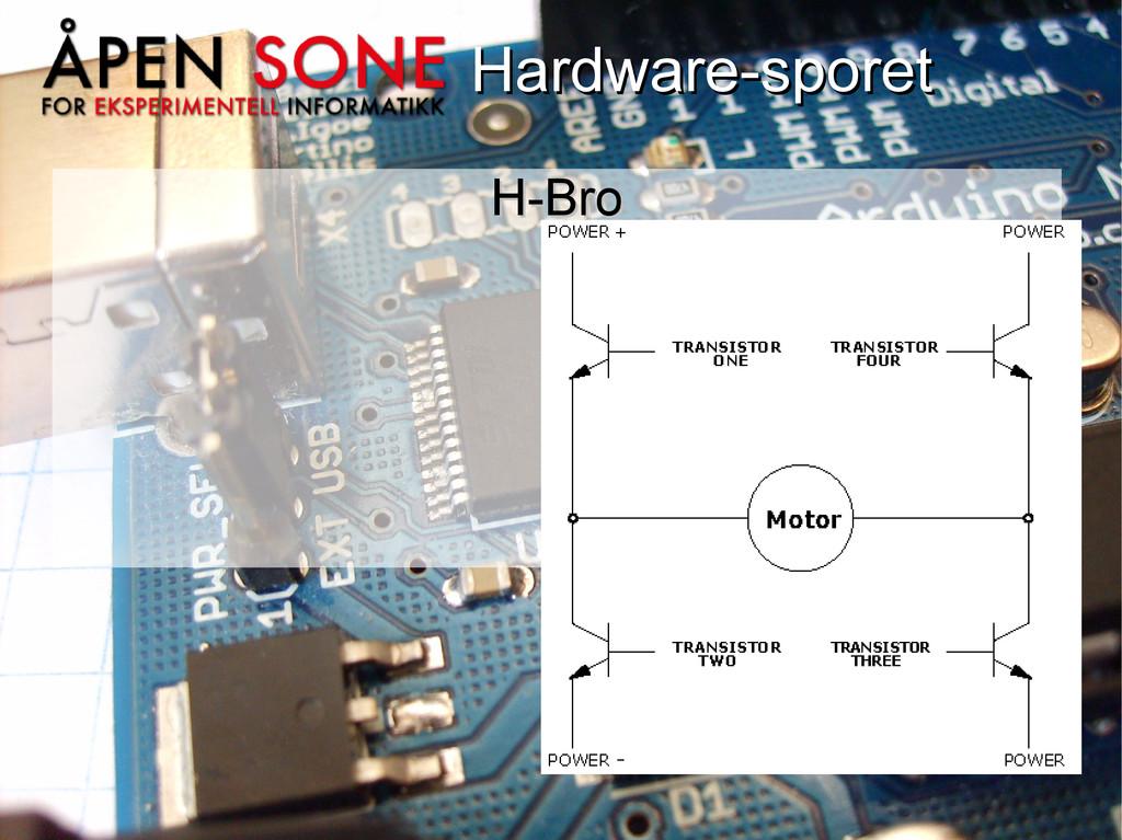Hardware-sporet Hardware-sporet H-Bro H-Bro