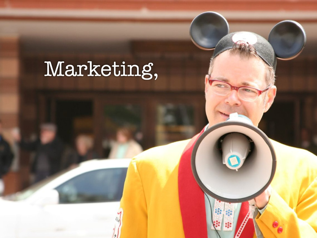 marketing bullhorn Marketing,