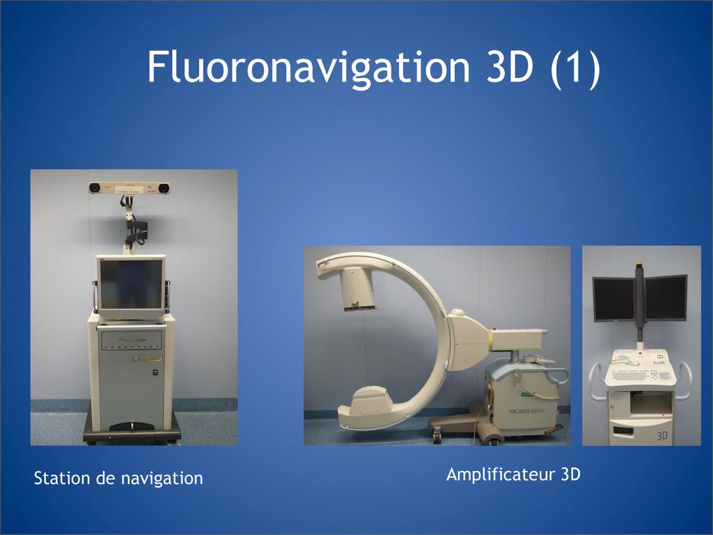 Fluoronavigation 3D (1) Amplificateur 3D Statio...