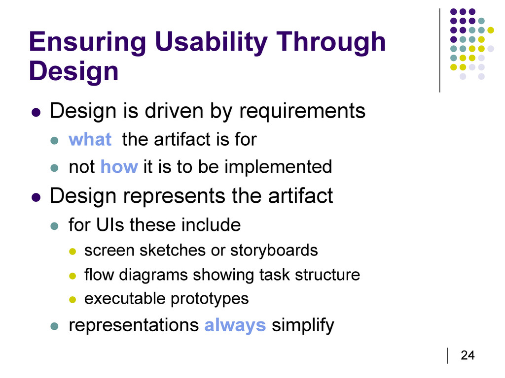 24 Ensuring Usability Through Design   Design ...
