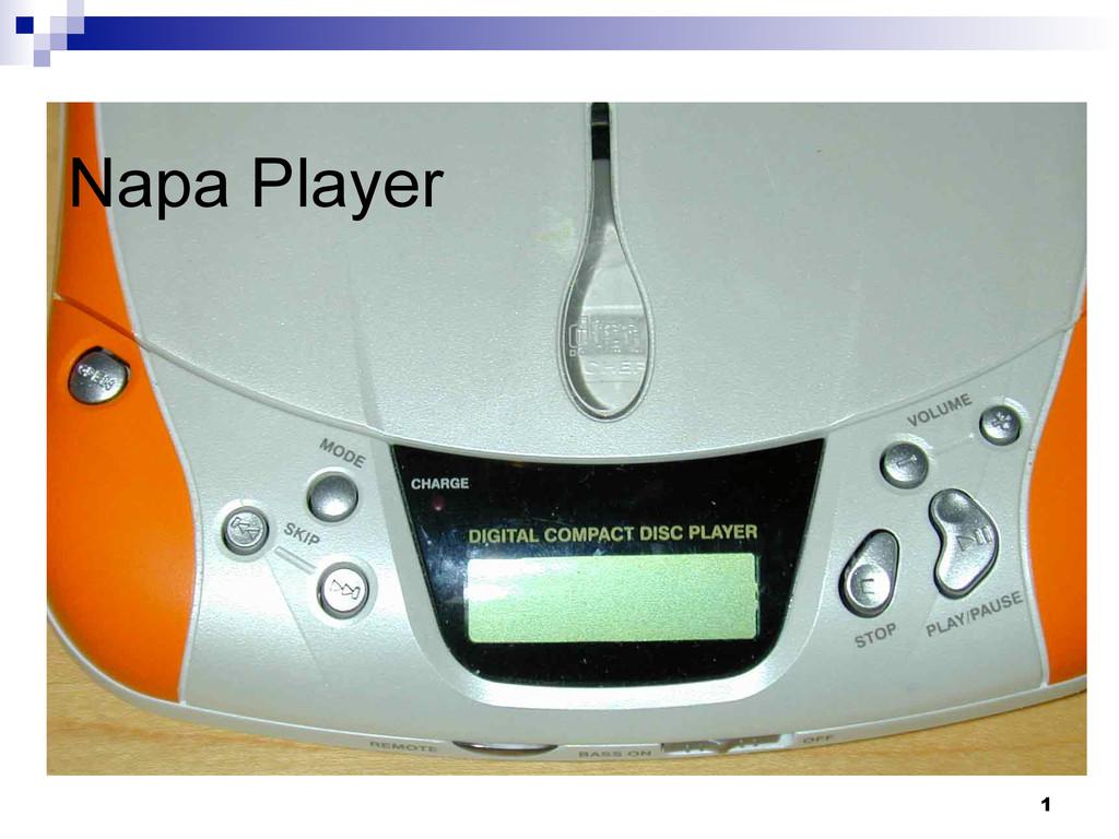 1 Napa Player