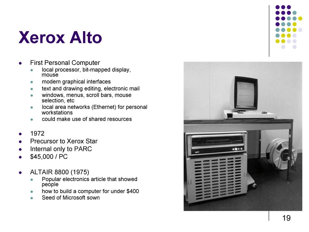 19 Xerox Alto  First Personal Computer  loc...