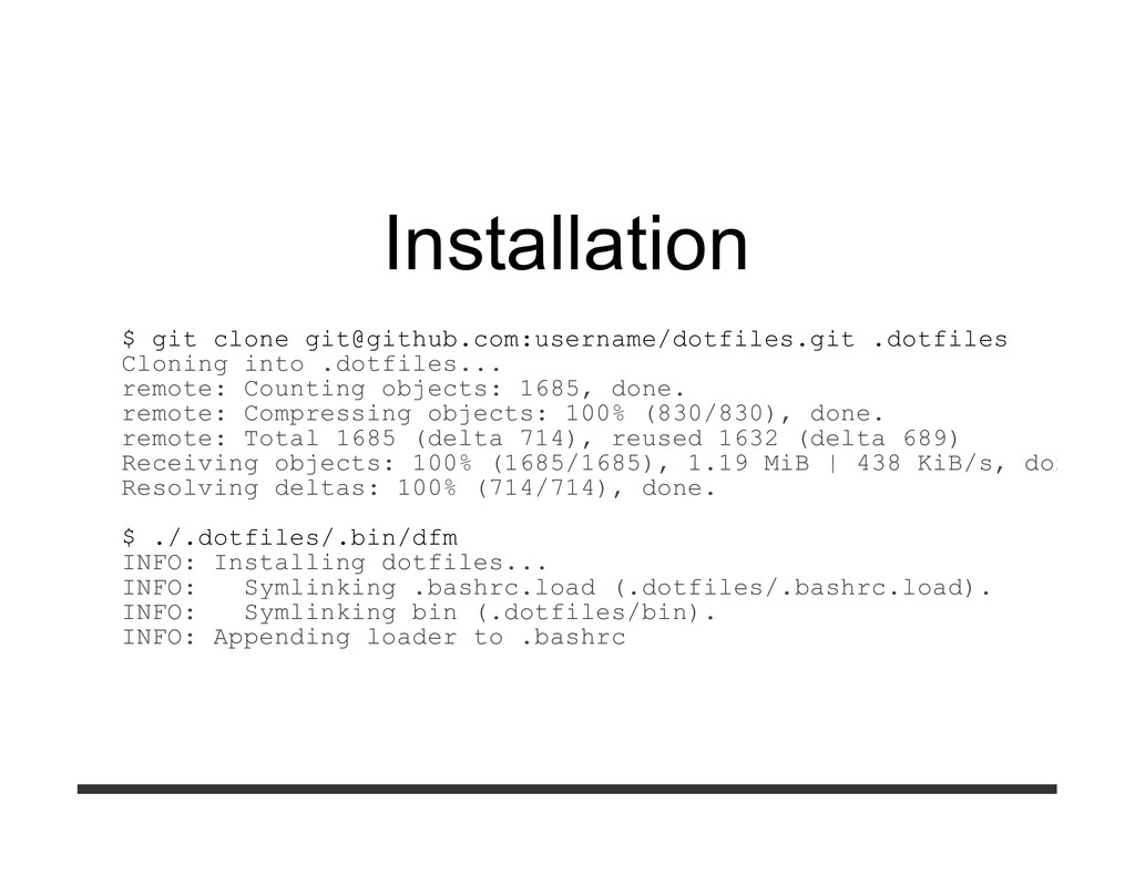Installation $ git clone git@github.com:usernam...