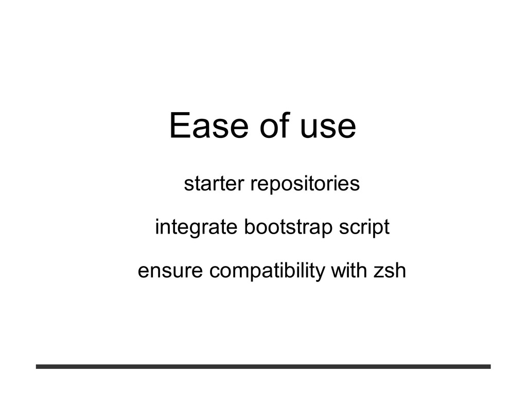 Ease of use starter repositories integrate boot...