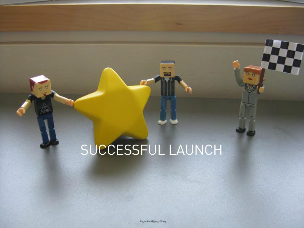 SUCCESSFUL LAUNCH Photo by: Glenda Sims
